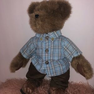 "Boyds Bears KELLAN LaBREWIN 14"" Plush collectible"